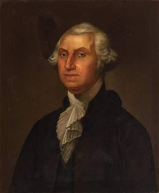 American School 19th Century Portrait of George