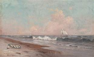 Warren Sheppard American 1858-1937 Along the Coast