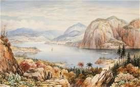 Washington Friend American, 1820-1886 View of a River