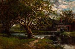 Frank Henry Shapleigh American, 1842-1906 The Old Grist