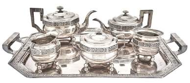 Gorham Classical Style Sterling Silver Tea and Coffee