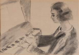 Henri Matisse French, 1869-1954 Woman at the Piano,