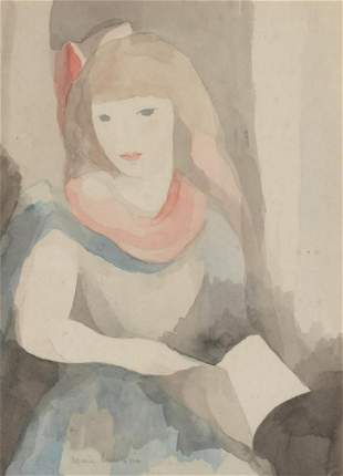Marie Laurencin French, 1883-1956 La Bibliotheque Rose,