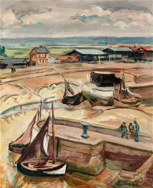 Achille-Emile Othon Friesz French, 1879-1949 Bassin a