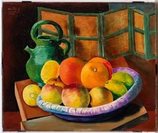 Moise Kisling Polish/French, 1891-1953 Nature Morte,
