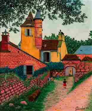 Camille Bombois French, 1883-1970 Le Castel de Maussac,