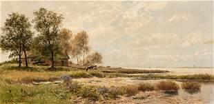 Otto Gunther Naumburg German, 1856-1944 Coastal