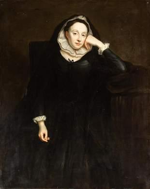 English School 18th Century Portrait of a Woman in