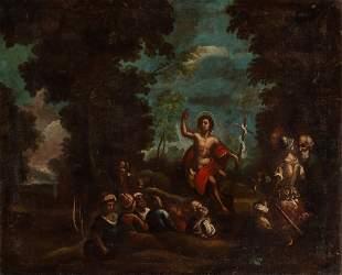 Manner of Francesco Solimena Saint John the Baptist