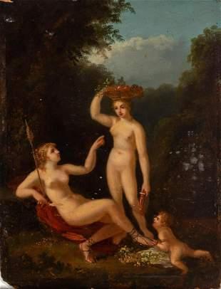 European School 19th Century Ceres and Proserpina
