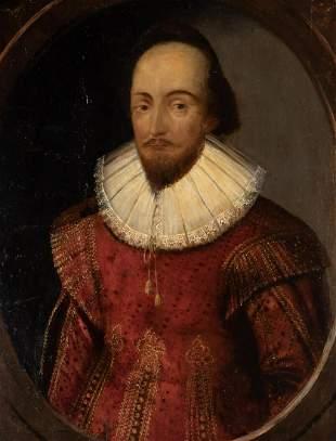 English School Early 17th century Portrait of a