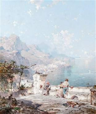 Franz Richard Unterberger Belgian, 1838-1902
