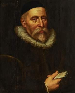 Dutch School 17th Century Portrait of a Gentleman