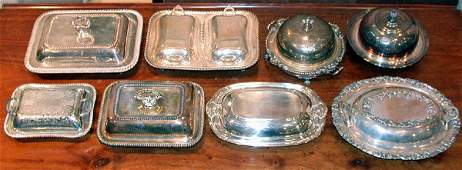 2570 Miscellaneous Group of Silver Plated Tableware