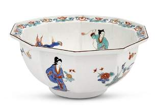 Meissen Porcelain Kakiemon Decagonal Bowl