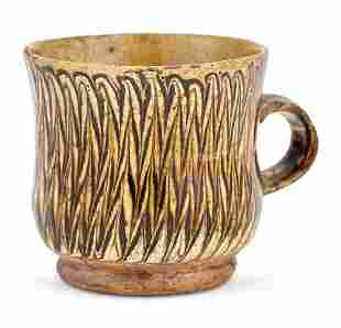 Staffordshire Slipware Cup