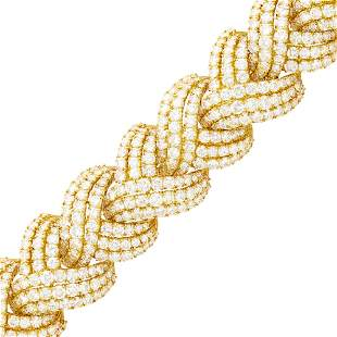Jacques Timey for Harry Winston Gold and Diamond