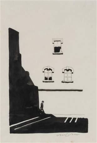 Milton Glaser American, 1929-2020 Untitled (Man Beneath