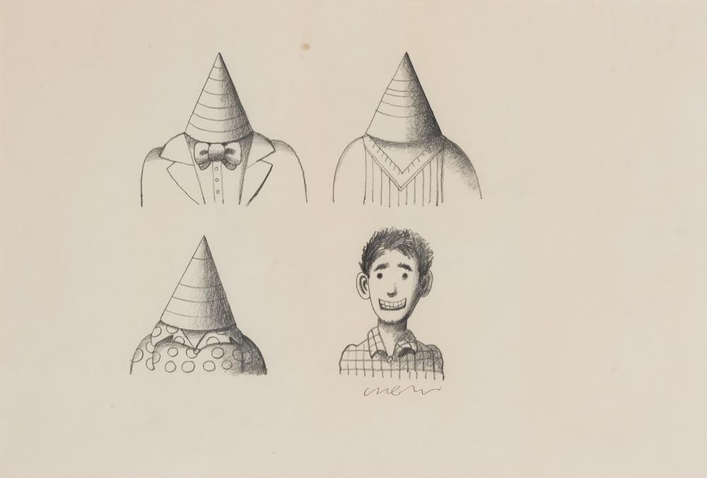 Milton Glaser American, 1929-2020 Untitled