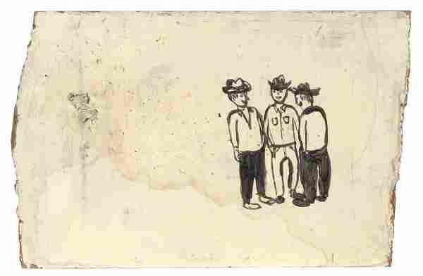 Chris Johanson American, b. 1968 Untitled