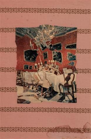 Jiri Kolar Czech, 1914-2002 Untitled (Dining Room)