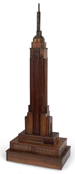 Tony Lordi American, b. 1940 Empire State Building,