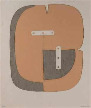 Conrad Marca-Relli American, 1913-2000 Untitled, 1970