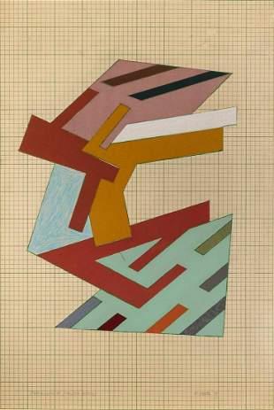 Frank Stella American, b. 1936 Targowica (Poster