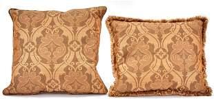 Set of Twelve Fabric Pillows