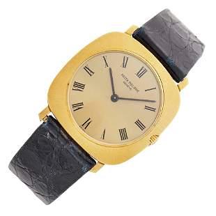 Patek Philippe Gentleman's Gold Wristwatch, Ref. 3543