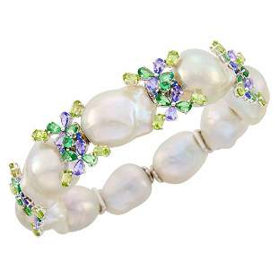 White Gold, Baroque South Sea Cultured Pearl and