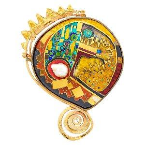 William Harper Two-Color Gold, Silver, Baroque