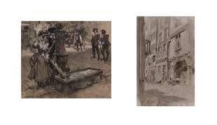Andre Castaigne and Walter Granville Smith: Two works