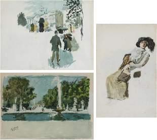 Nicolas Gilles German, 1870-1939 Three works