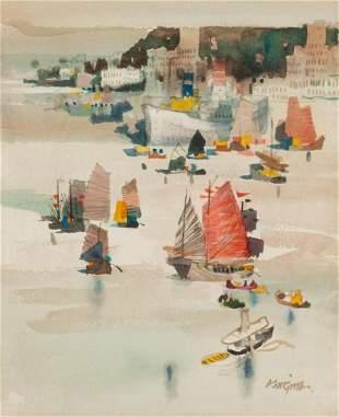 Dong Kingman Chinese/American, 1911-2000 Hong Kong