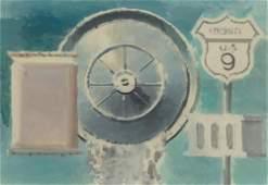 Walter Tandy Murch American, 1907-1967 Route 9W,