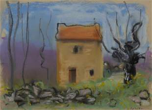 Paul Resika American, b. 1928 House in Provence