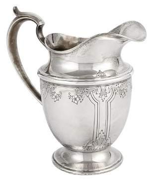 Durgin for Gorham Sterling Silver Water Pitcher