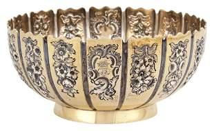 William IV Sterling Silver Gilt Bowl