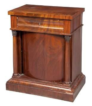 Danish Mahogany Bedside Cupboard