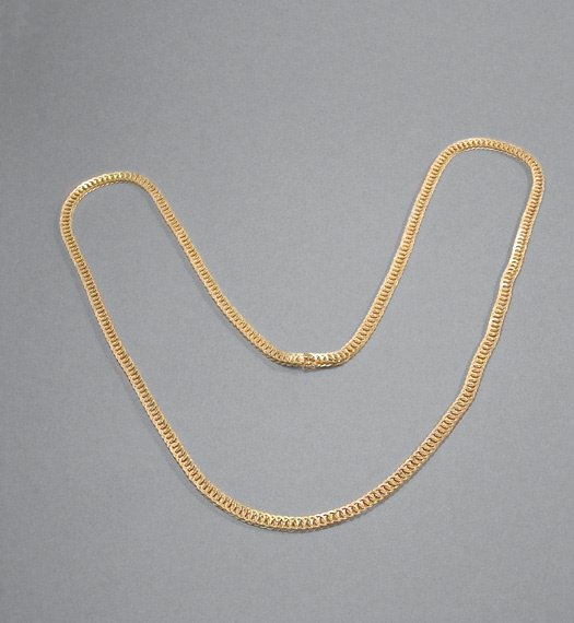 5: Gold Chain Necklace