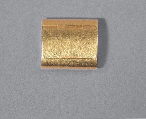 17: Gold Pill Box