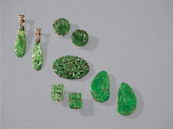 23: Group of Jade Jewelry