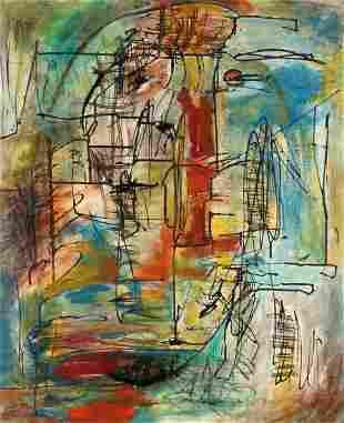 Kujahn Blask German, 1902-1970 Untitled