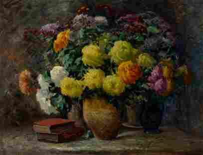 Jean Chaleye French, 1878-1960 Bouquet Multicolore: a
