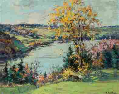 Berthe Des Clayes Canadian, 1877-1968 The St. Francis