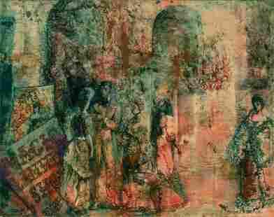 Terence Romaine Duren American, 1906-1968 At The Opera
