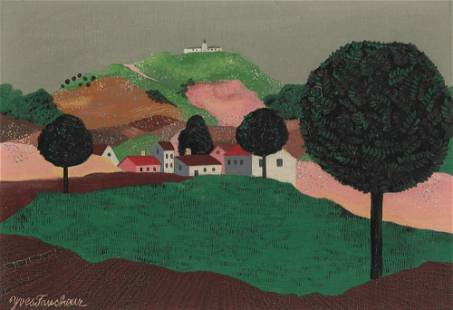 Yves Faucheur French, 1924-1985 Paysage