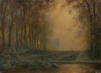 Louis Henri Foreau French, 1866-1938 Gardens of