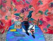 Gary Komarin American, b. 1951 Ocho Rios, 1986